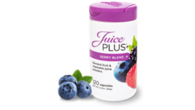 Juice Plus+ berry blend capsules