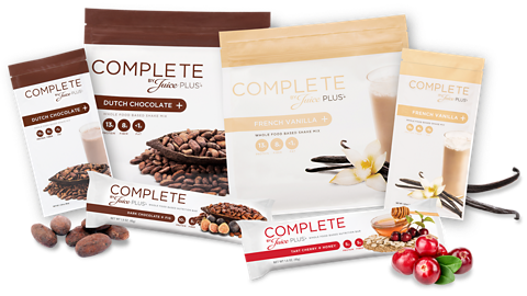 Juice Plus+ Complete product range