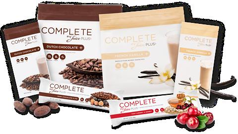 Juice Plus+ Complete product range