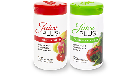 Juice Plus+ fruit and vegetable blend capsules