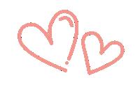 Illustration of hearts