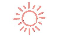 Illustration of the sun