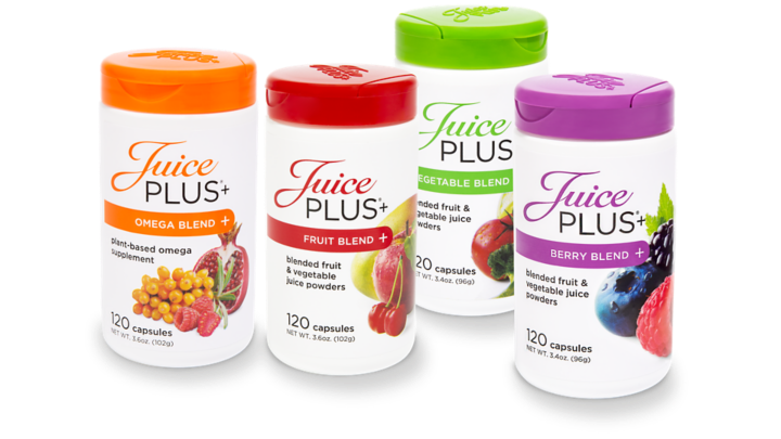Juice Plus+ Premium capsules with omega blend